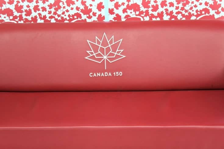 the Red Couch and Canada 150