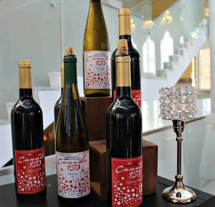 the Red Couch Tour official Wine