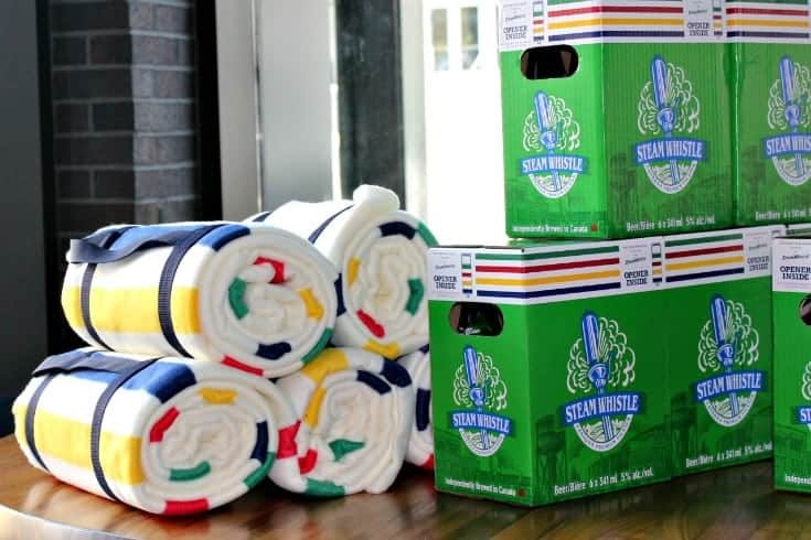 Steam Whistle and Hudson Bay Company paired together true Canadian
