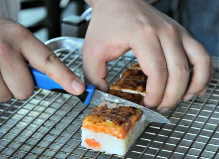 creating sushi