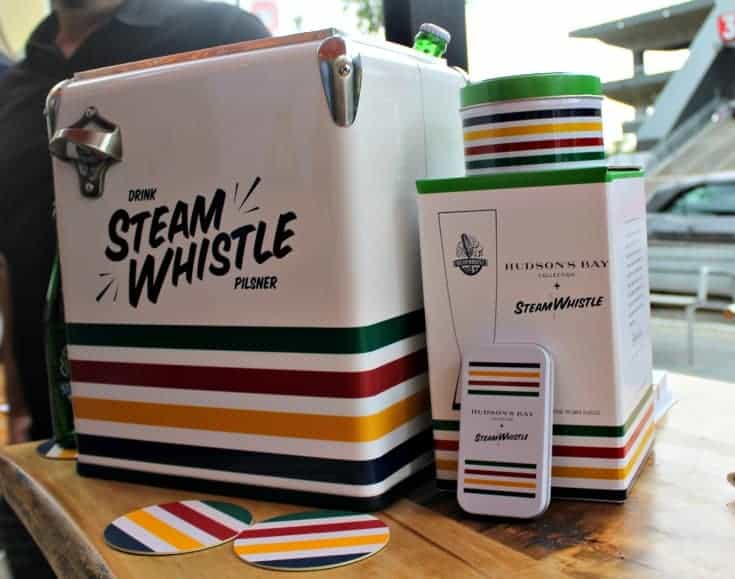 Steam Whistle and Hudson Bay Pairings