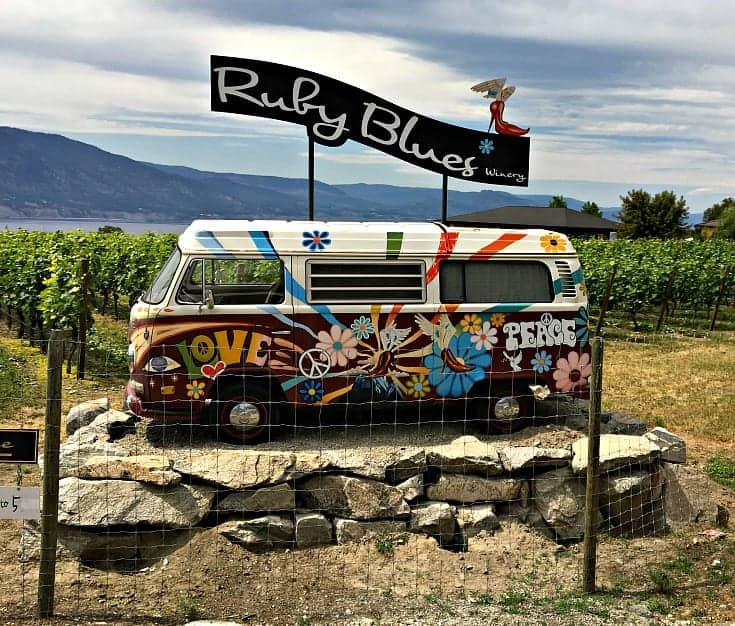 Ruby Blues Winery Penticton