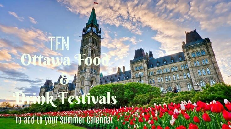 Festivals for food and drink in Ottawa