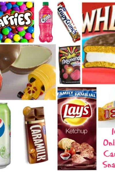 10 Canadian Snacks Revisited
