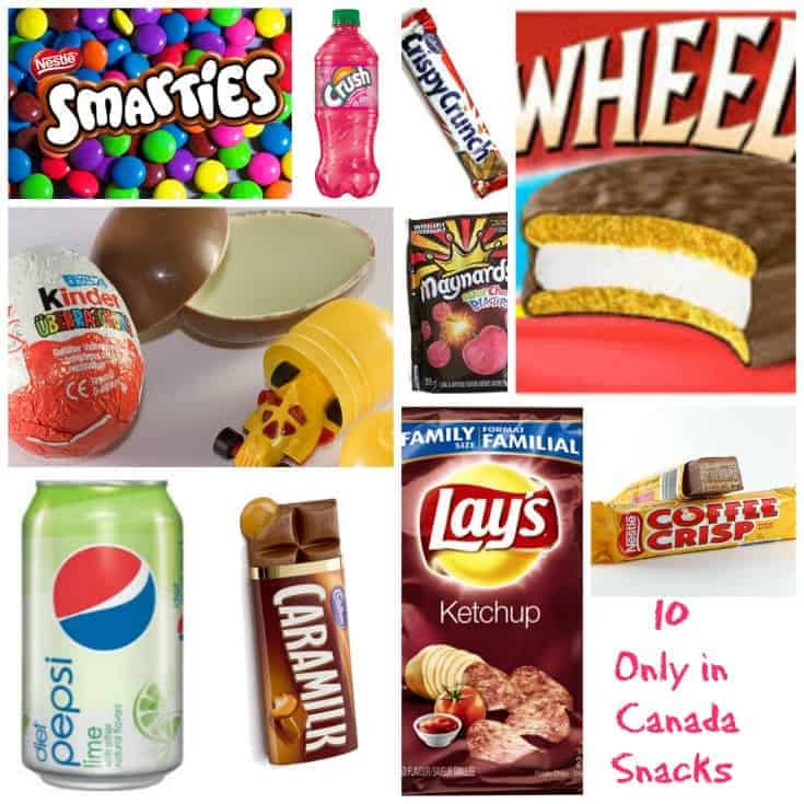 10 Canadian Snacks you need to try
