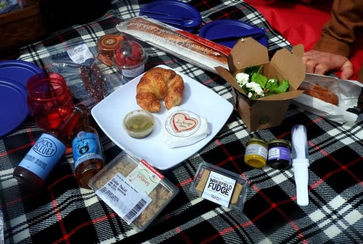 Gourmet spread for the Picnic on the Bridge 5