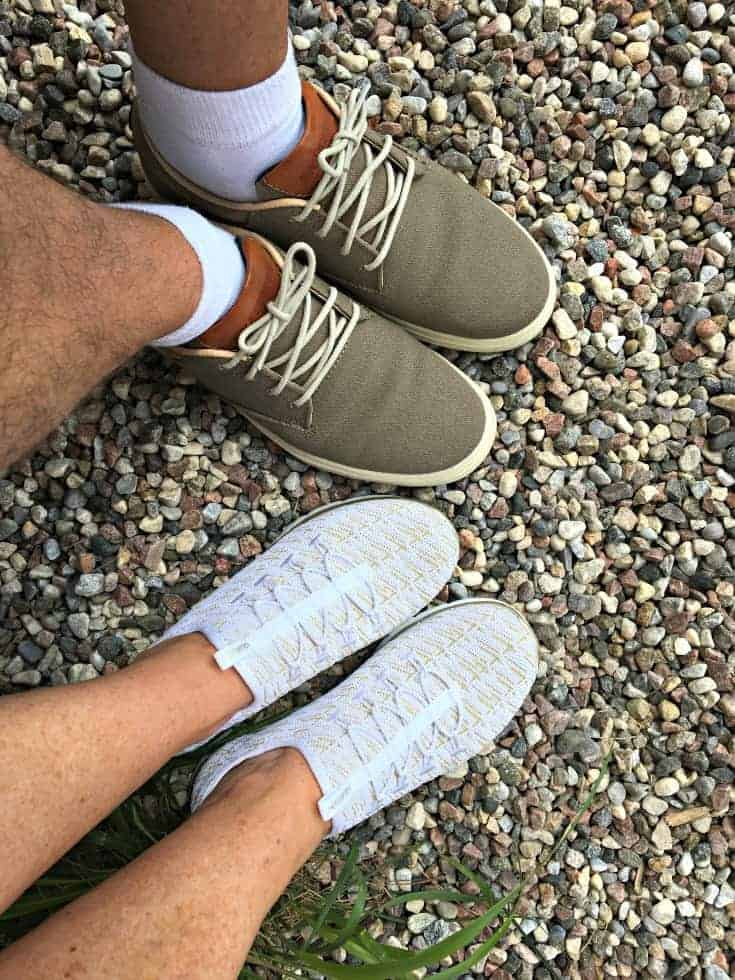 Skechers Flex Appeal and the Porter