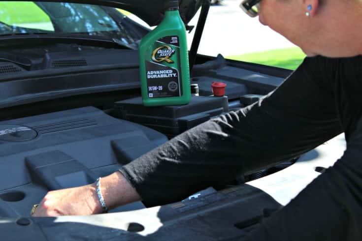 Quaker State and Canadian Tire are helping me get Road ready with an oil change 4