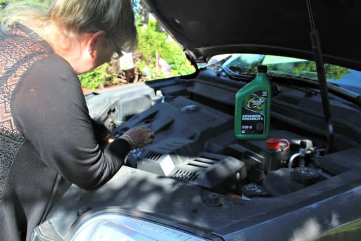 Quaker State and Canadian Tire are helping me get Road ready with an oil change
