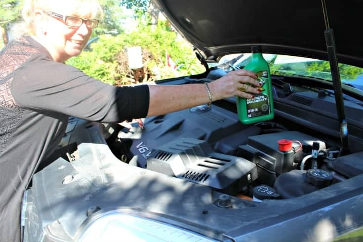 Quaker State and Canadian Tire are helping me get Road ready with an oil change 2