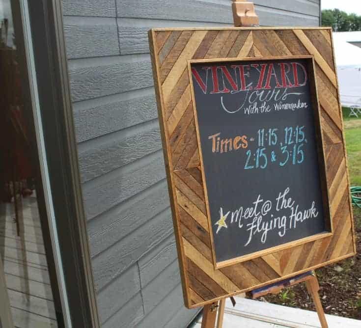 Grand Opening of Kin Vineyards tour schedule