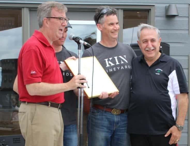 Grand Opening of Kin Vineyards with Mayor Watson