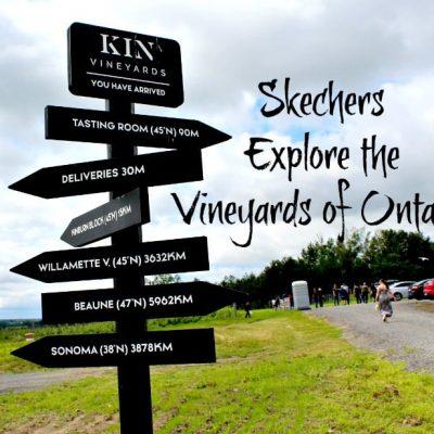 Skechers Exploring Ontario Vineyards- Kin Vineyard