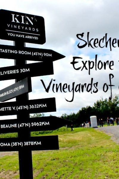 Skechers Exploring Ontario Vineyards- Kin Vineyard