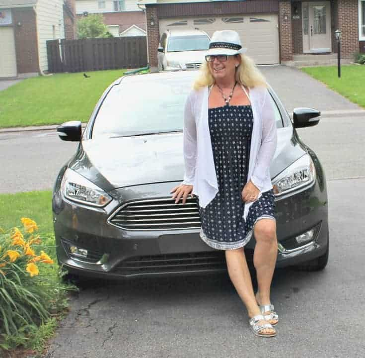 Giant Tiger Halter Dress and the Ford Focus