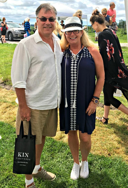 exploring Kin Vineyard in Skechers and Giant Tiger