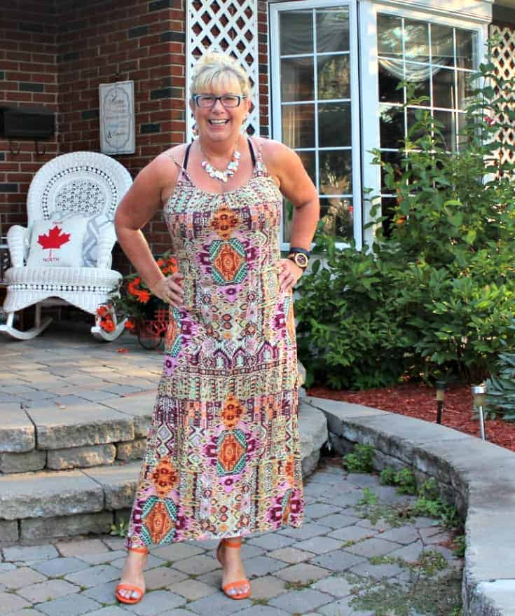 target sundress and shoe dazzle heels with a jord watch