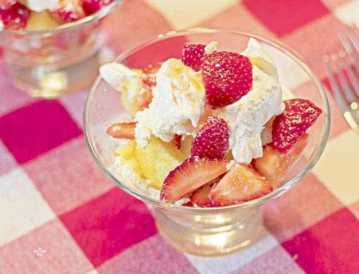 craving quick and easy Strawberry Shortcake