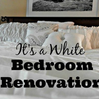 White Bedroom Renovations