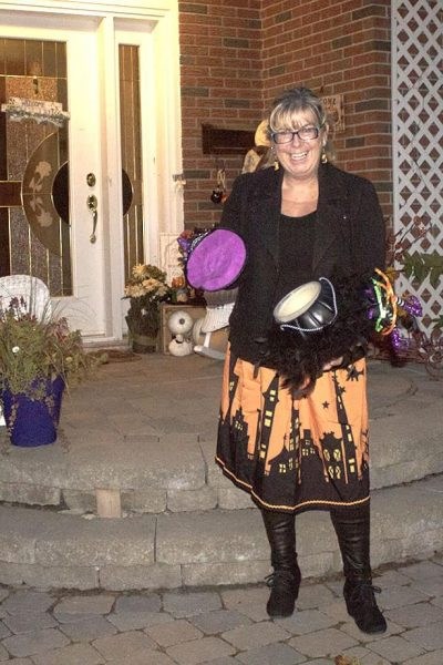 Halloween Outfits and a Ghoulish Skirt
