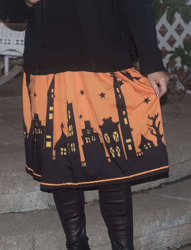Halloween skirt by Gamiss, Banana republic moto