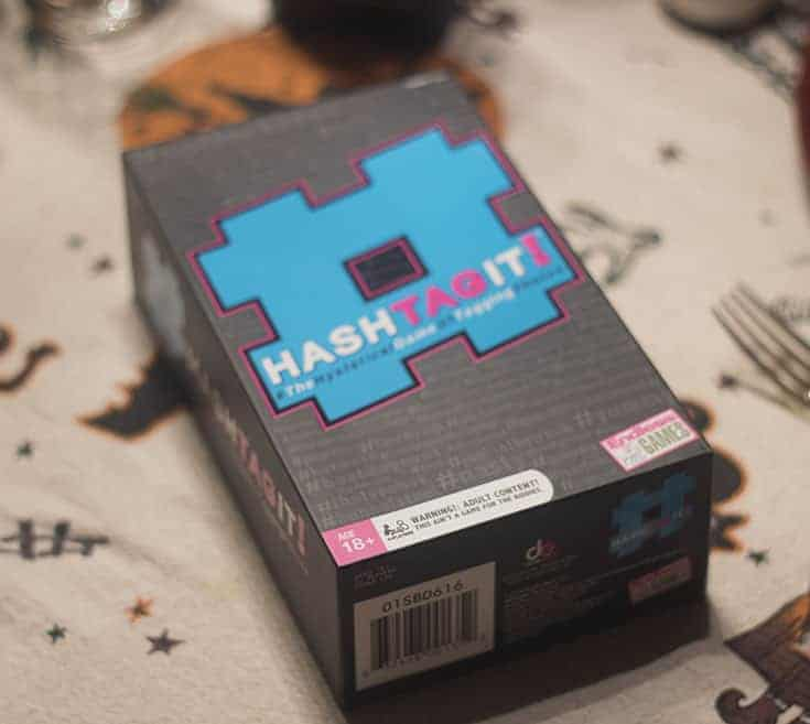 #Hashtagit family game