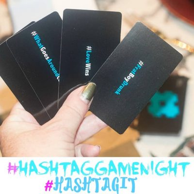 #Hashtagit and a Family Game Night