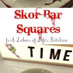 skor bar squares with ritz crackers