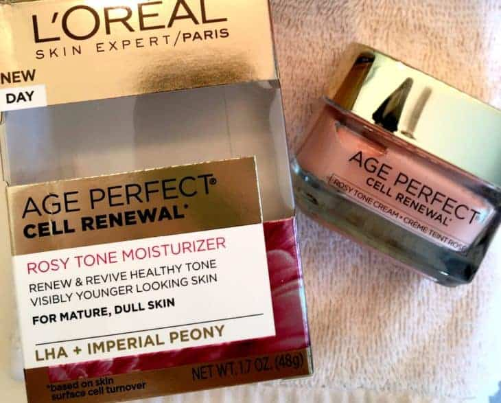 #theperfectage #rosy tone mositurizer