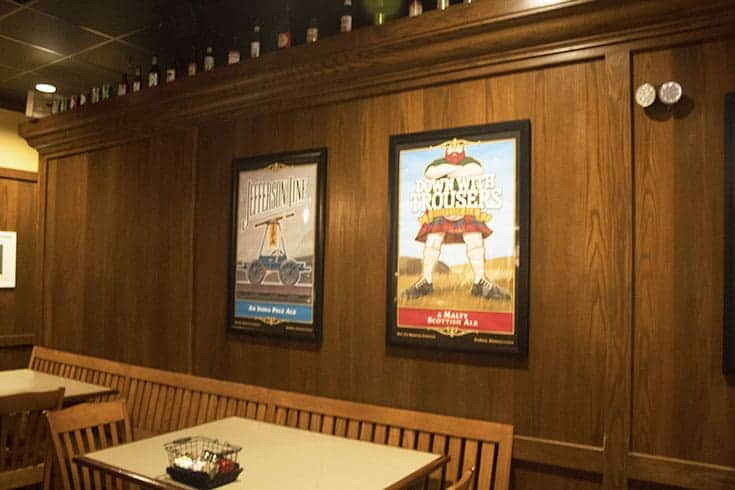 signature posters at Doc G's Brewing Company in Dubois