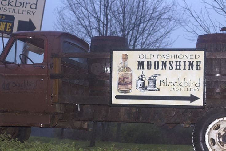 Blackbird Distillery Old Fashion Moonshine