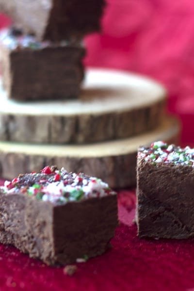 How to Make Two Ingredient Chocolate Fudge
