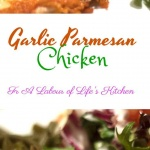 healthy garlic parmesan chicken