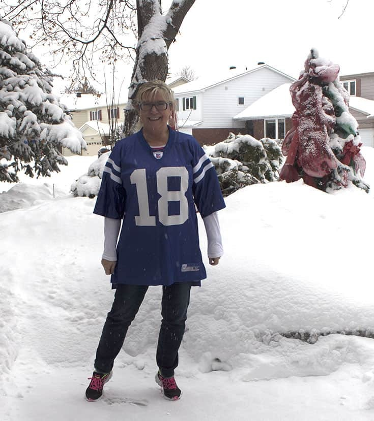 Peyton Manning Jersey on Super Bowl Sunday