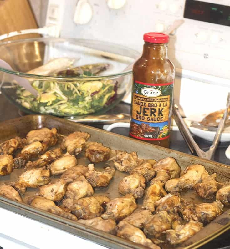 marinade jerk wings