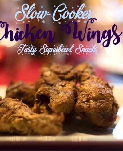 Slow Cooker Chicken Wings with Dr Pepper