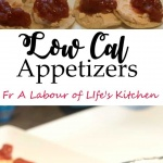 low cal appetizers