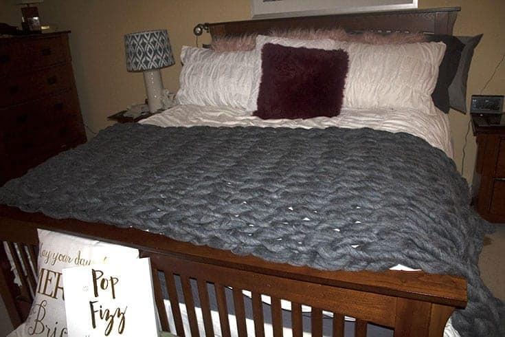 homemade blanket
