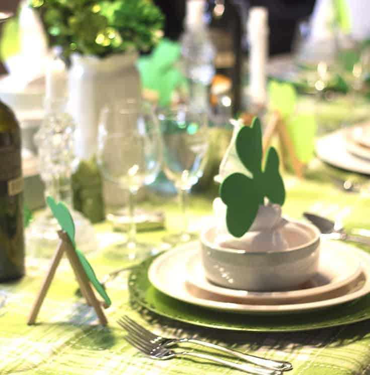 St Patrick's Day Tablescapes