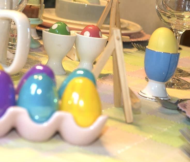 Pastel Eggs for Easter