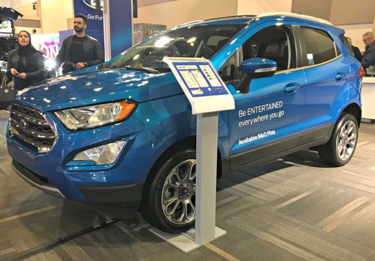 Ottawa Car Show and the new Ford EcoSport