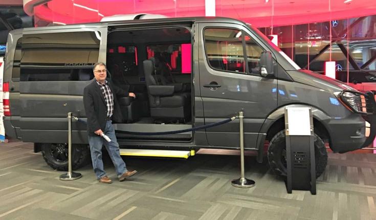 Ottawa Car Show Mercedes Van