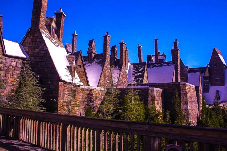 exploring Hogwarts at Universal