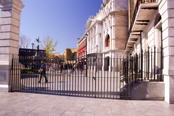 London Street in Harry Potter