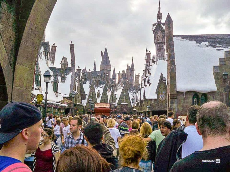 entering Hogsmeade