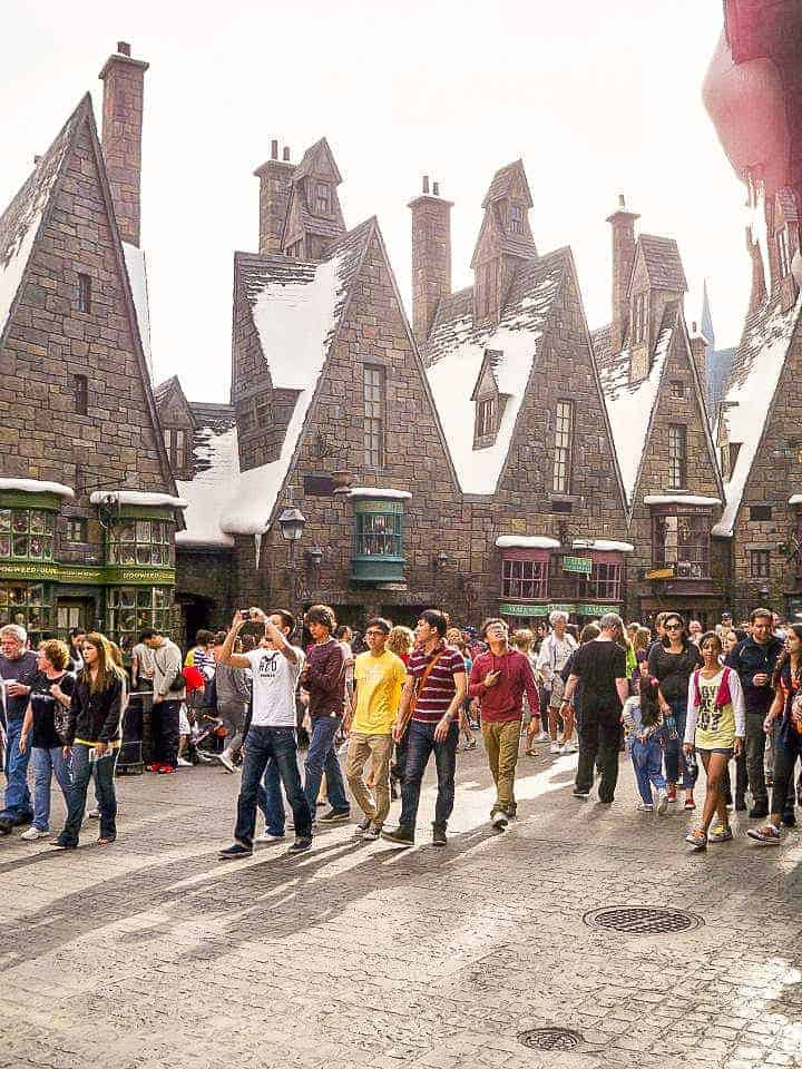 High Street in Hogsmeade