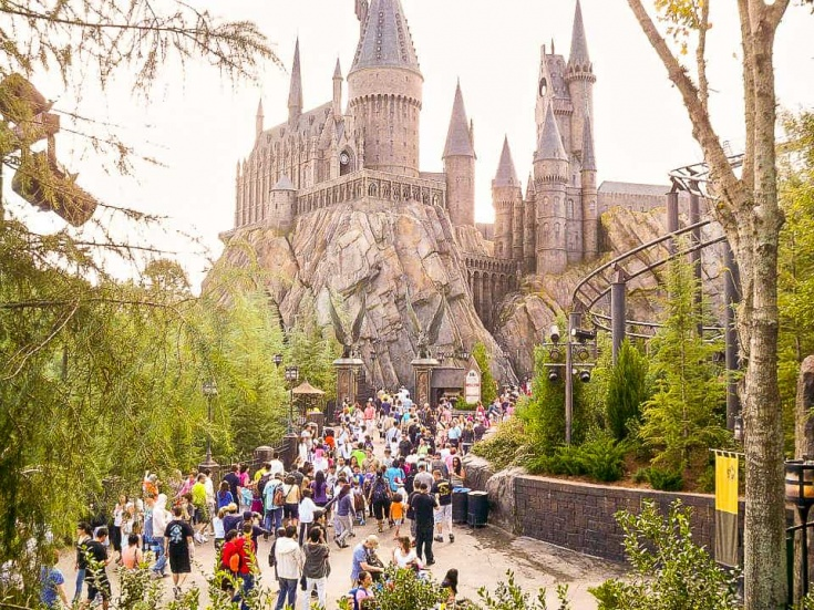 Hogwarts was exactly as pictured