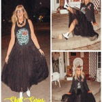 tulle skirts and graphic tees
