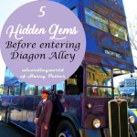 five gems before entering Diagon Alley