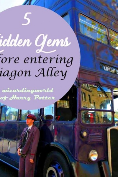 Five Gems to see before Entering Diagon Alley